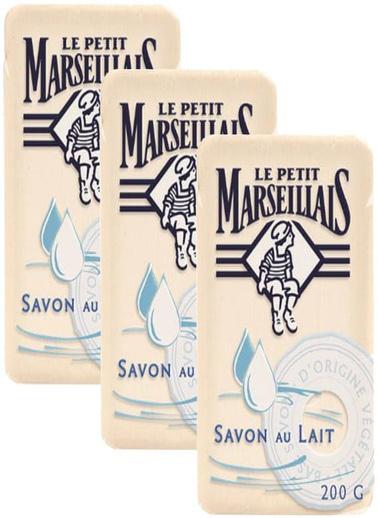 Le Petit Marseilials Le Petit Marseillais Süt İçerikli Geleneksel Akdeniz Sabunu 200 Renksiz